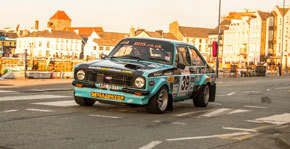 Top Thirty Finish For Swift On Manx Rally