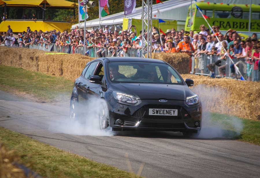 Sweeney tribute at Goodwood Festival of Speed