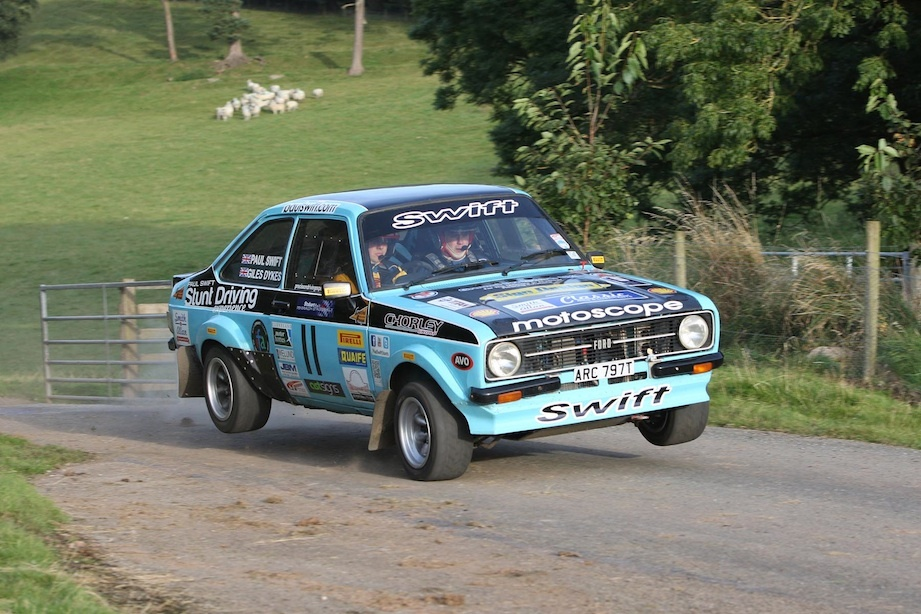 Swift Clinches North East Rally Championship