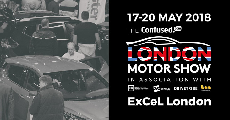 See us at the London Motor Show this May
