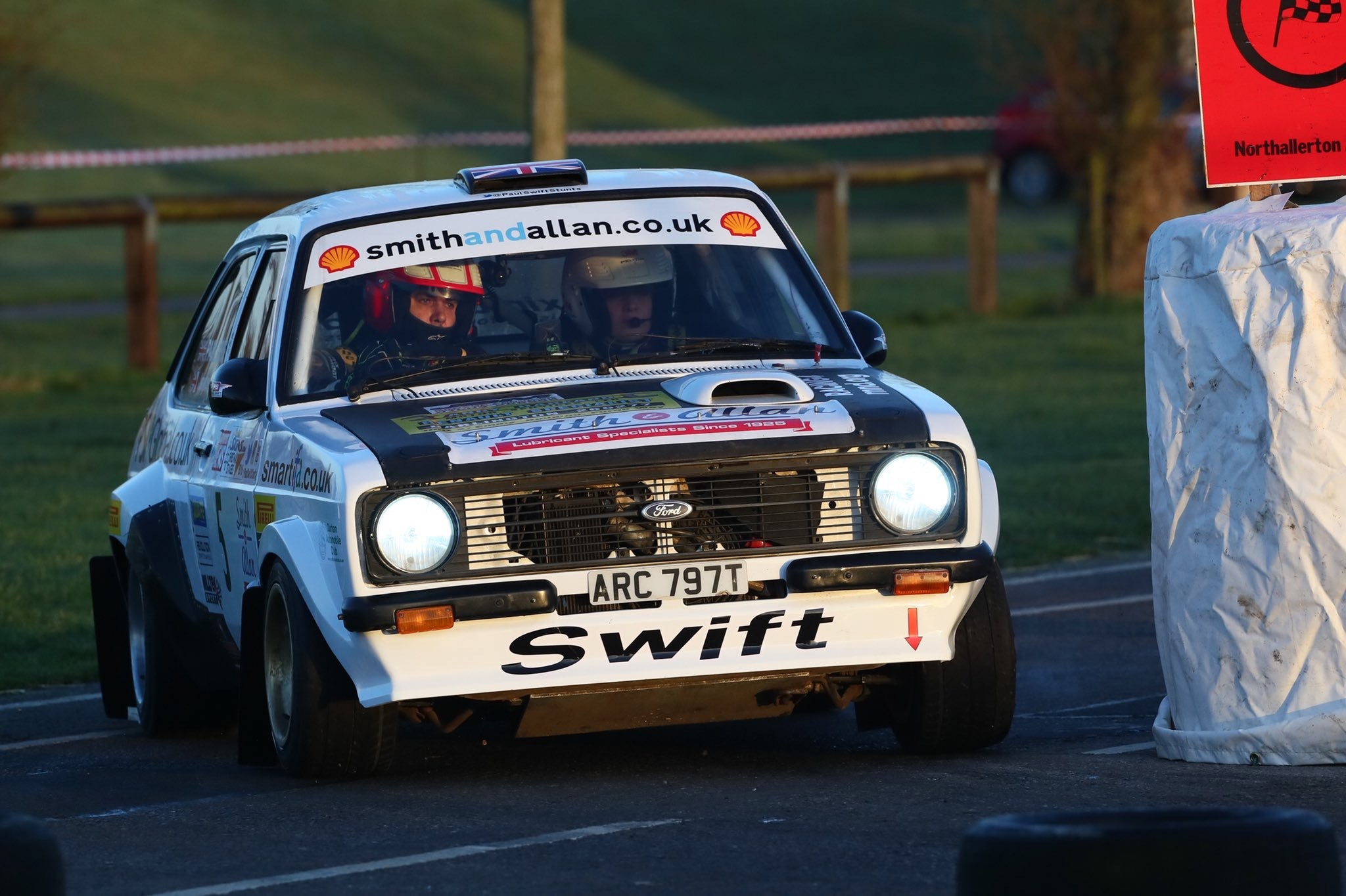 Swift fights back from misfire at Jack Frost Stages Rally