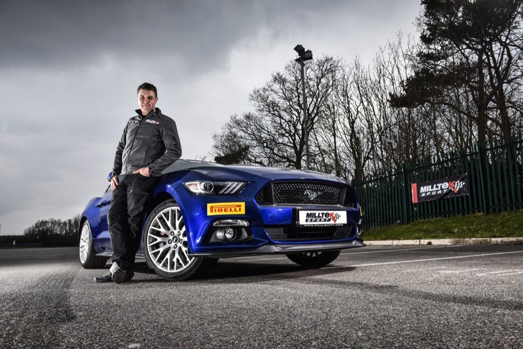 Paul tests the new Mustang with Milltek Exhaust