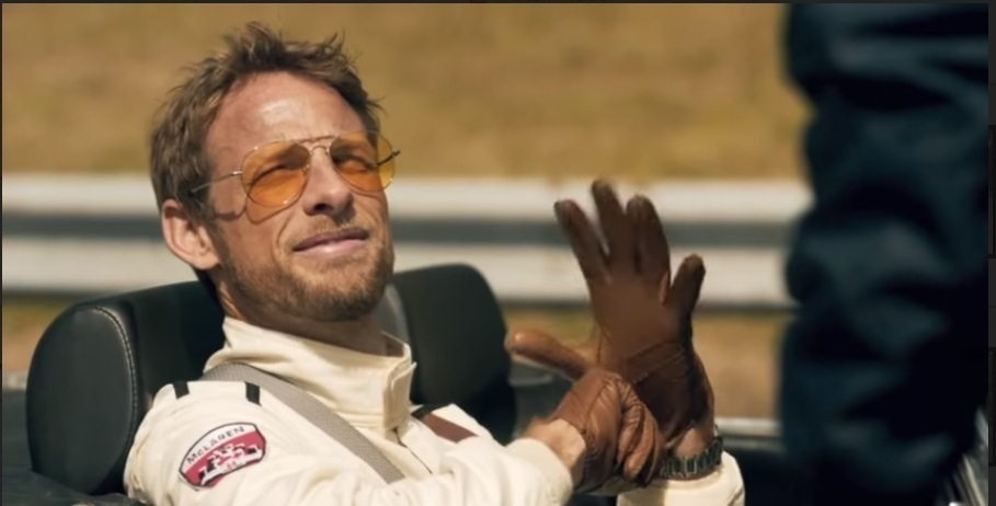 Johnie Walker and Jenson Button