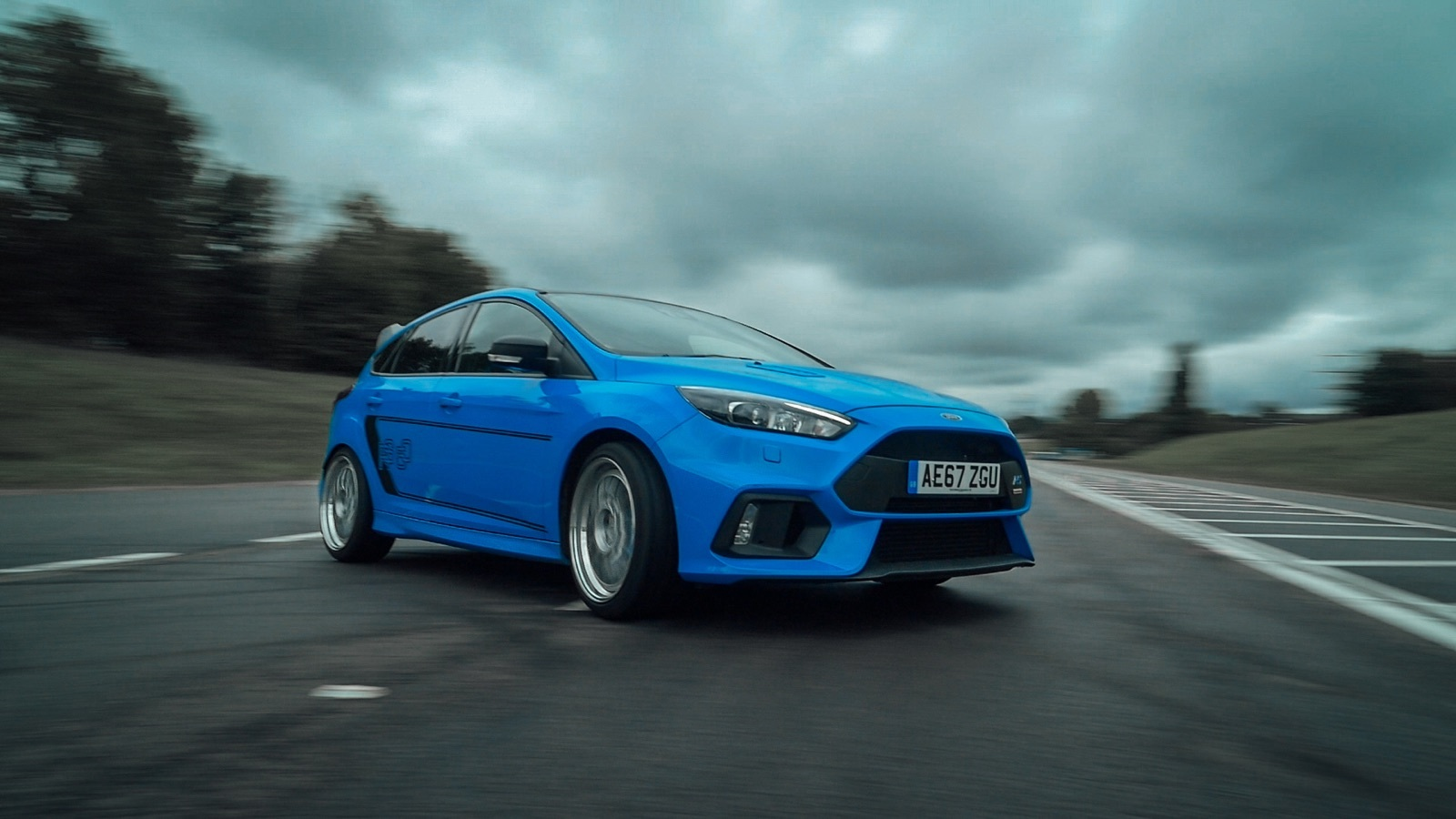 Focus RS, the Stunt Drivers Car of Choice
